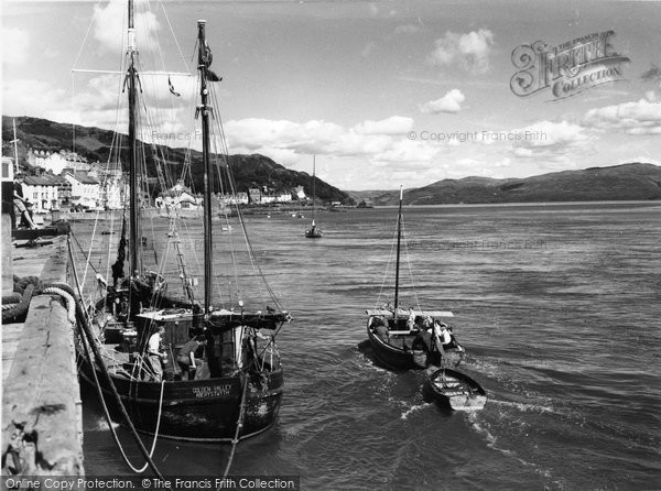 Photo of Aberdovey, The Harbour c.1960