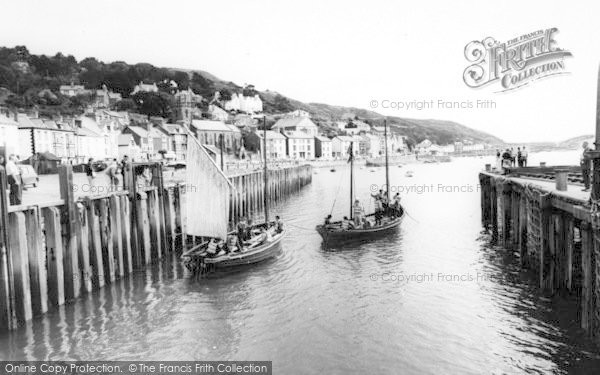 Photo of Aberdovey, The Harbour c.1965