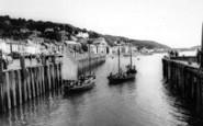 Aberdovey, The Harbour c.1965