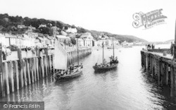 Aberdovey, The Harbour c.1965