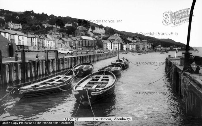 Photo of Aberdovey, The Harbour c.1965
