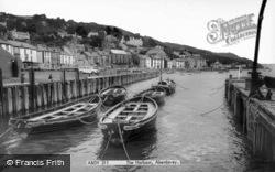 Aberdovey, The Harbour c.1965, Aberdyfi