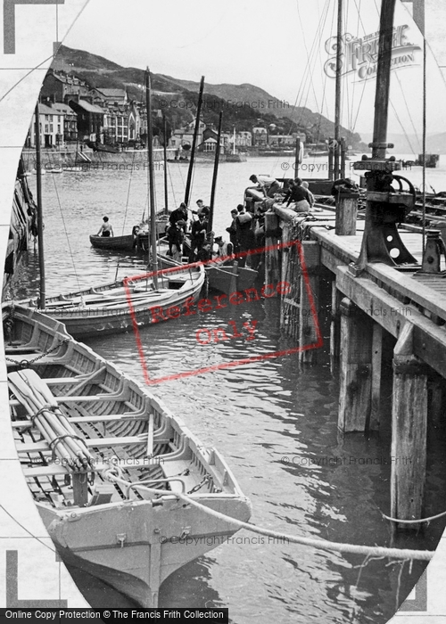 Photo of Aberdovey, The Jetty c.1955