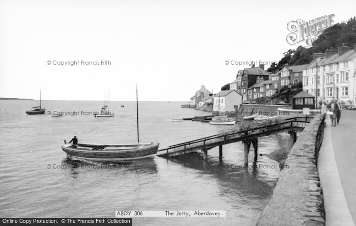 Photo of Aberdovey, The Jetty c.1965