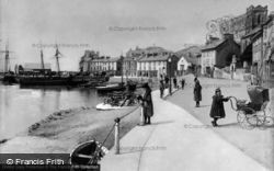 Aberdovey, The Parade c.1900, Aberdyfi