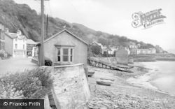 Aberdovey, The Promenade c.1955