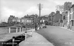 Aberdovey, The Promenade c.1955, Aberdyfi