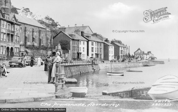 Photo of Aberdovey, The Promenade c.1960