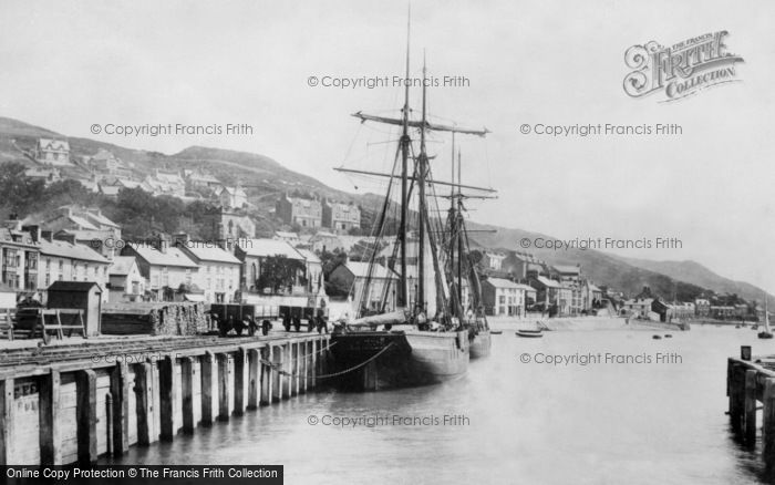 Photo of Aberdovey, The Quay 1901
