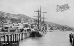Aberdovey, The Quay 1901