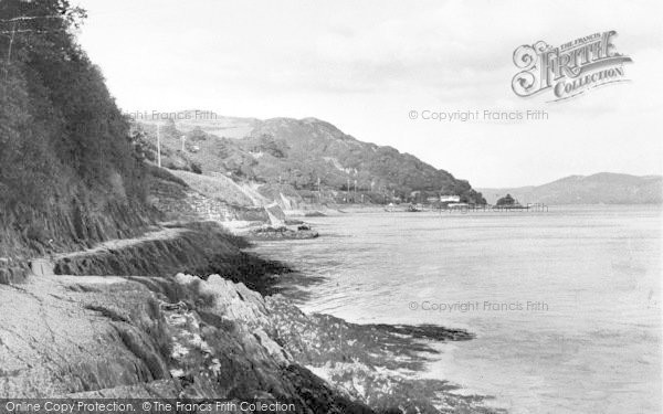 Photo of Aberdovey, The Roman Road And Estuary c.1955