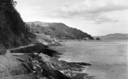 Aberdovey, The Roman Road And Estuary c.1955