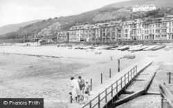 Aberdovey, The Sands c.1955
