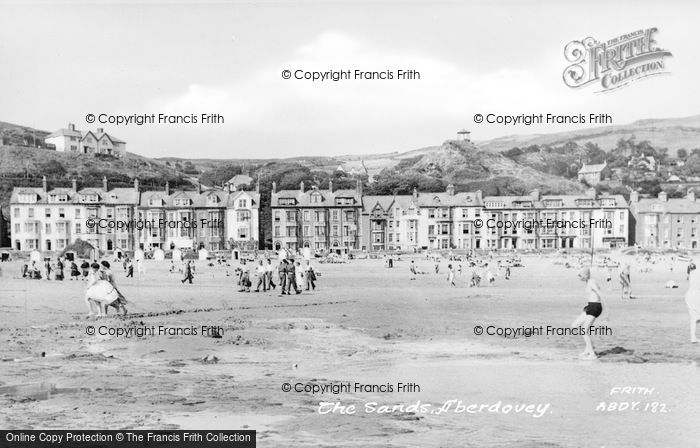 Photo of Aberdovey, The Sands c.1955