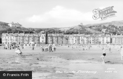 Aberdovey, The Sands c.1955