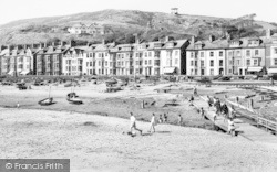 Aberdovey, The Sands c.1960