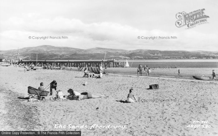 Photo of Aberdovey, The Sands c.1960