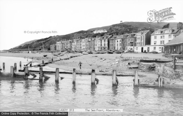 Photo of Aberdovey, The Seafront c.1965