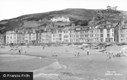 Aberdovey, The Seafront c.1965