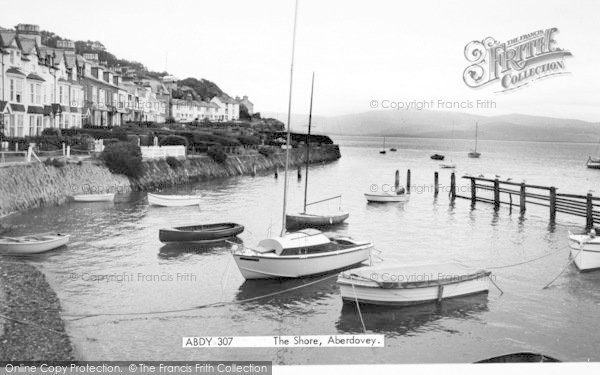 Photo of Aberdovey, The Shore c.1965