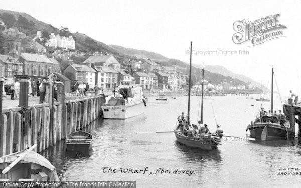 Photo of Aberdovey, The Wharf c.1960