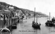 Aberdovey, The Wharf c.1960