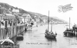 Aberdovey, The Wharf c.1960