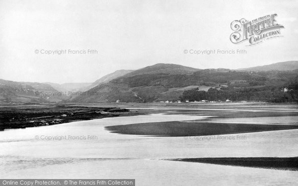Aberdovey, View Across The Dovey  1892