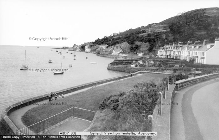 Photo of Aberdovey, View From Penhelig c.1965