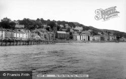 Aberdovey, View From The Sea c.1965, Aberdyfi