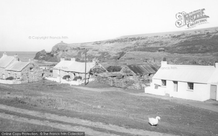 Photo of Abereiddy, c.1960