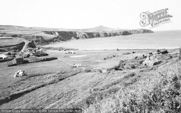 Photo of Abereiddy, c.1960