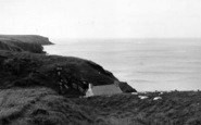 Abereiddy, The Bay c.1955