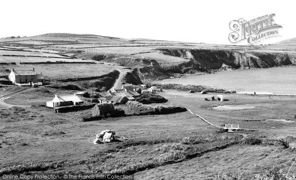 Photo of Abereiddy, The Bay c.1960