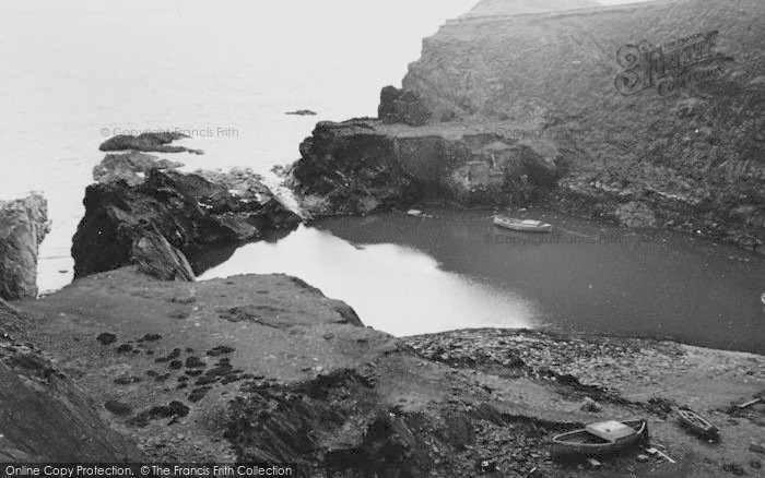 Photo of Abereiddy, The Old Quarry Harbour c.1960