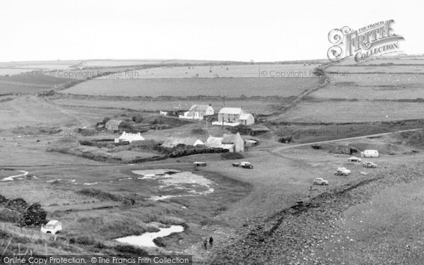 Photo of Abereiddy, View From Old Watch Tower c.1960
