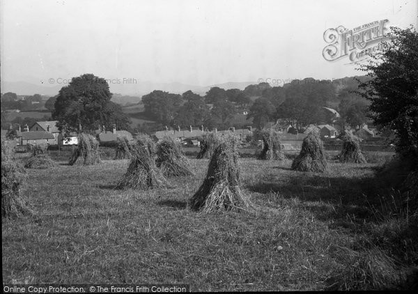 Photo of Abererch, A Harvest Field 1936