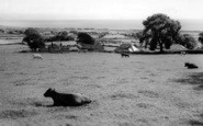 Abererch, Across The Fields c.1960