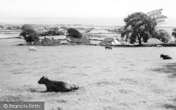 Abererch, Across The Fields c.1960