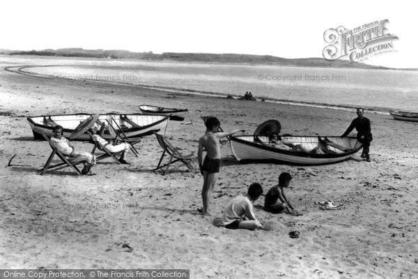Abererch, Beach c.1955