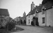 Abererch, Entrance To The Church 1936