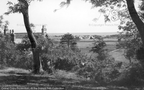 Photo of Abererch, Mofra Farm And Bay c.1950