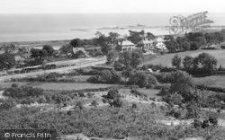 Abererch, Pwllheli Harbour From Clogwyn Mawr c.1950