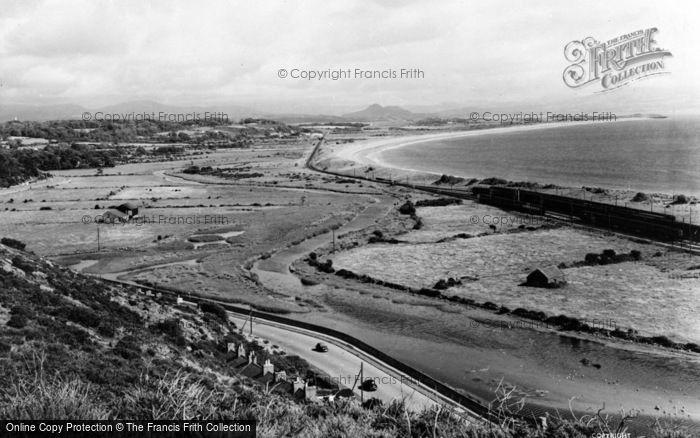 Photo of Abererch, The Coastline c.1960
