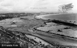 Abererch, The Coastline c.1960