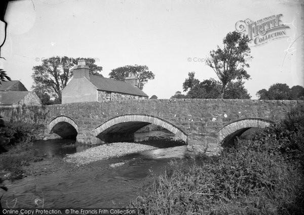 Abererch, The Old Bridge 1936