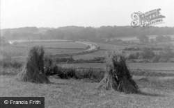 Abererch, View Showing The By Pass 1936