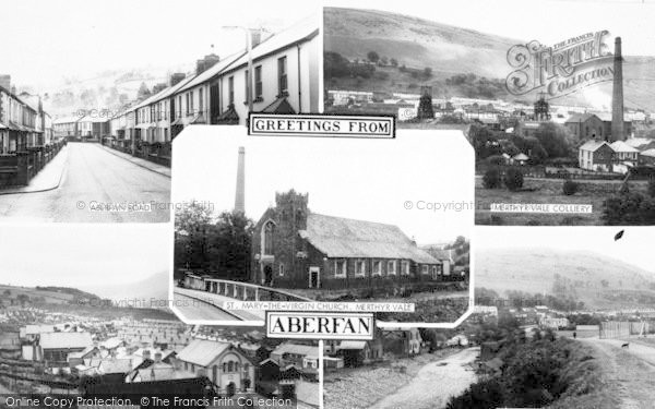 Photo of Aberfan, Composite c.1955