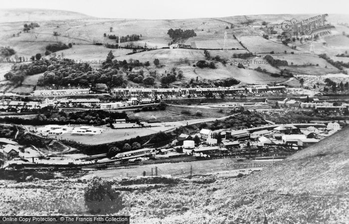 Photo of Aberfan, The Village c.1970
