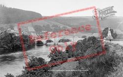 Black Watch Monument And Bridge c.1880, Aberfeldy